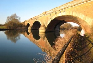 Our iconic view of Brunell's Moulsford Bridge