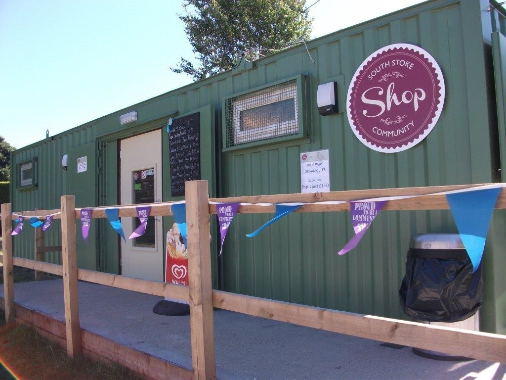 Our own, volunteer-run South Stoke Community Shop
